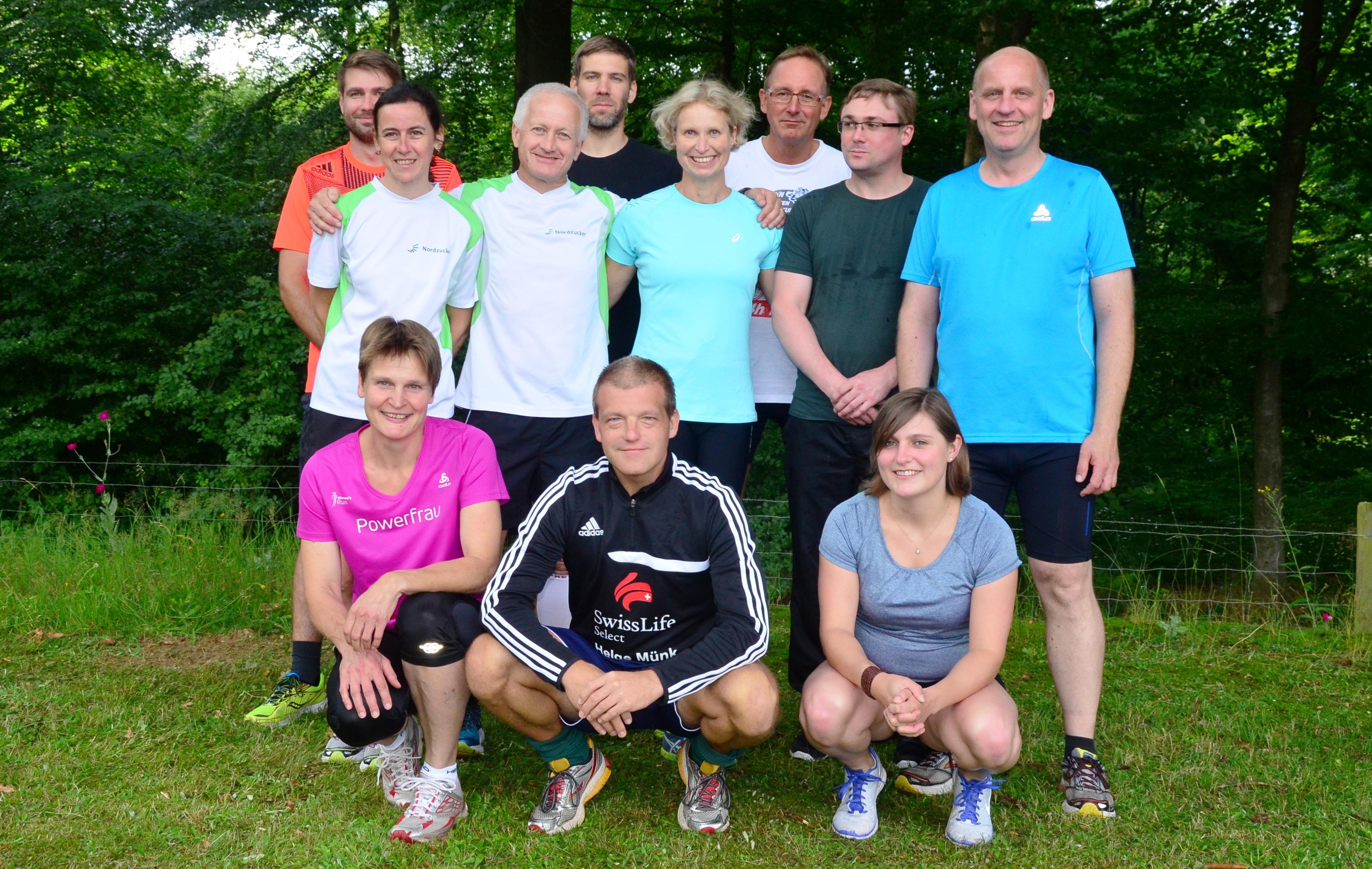 Laufgruppe UEL 2016